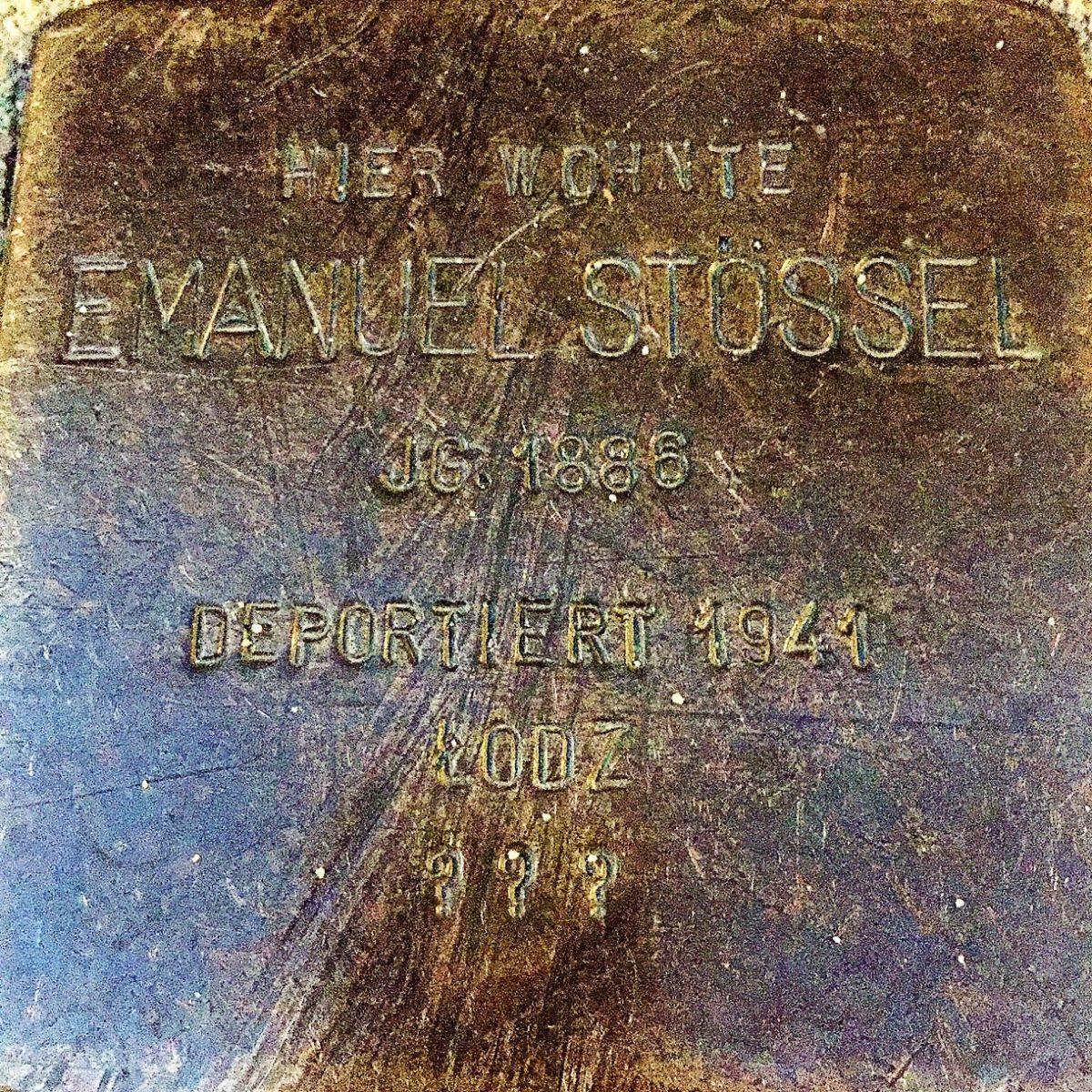 Stössel Emanuel